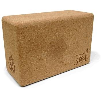 Gaiam Sol Natural Cork Yoga Blocks