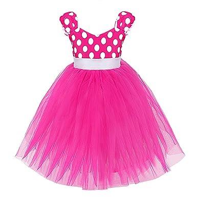 YiZYiF Baby Kinder Mädchen Kostüm Karneval Cosplay Faschingskostüme ...