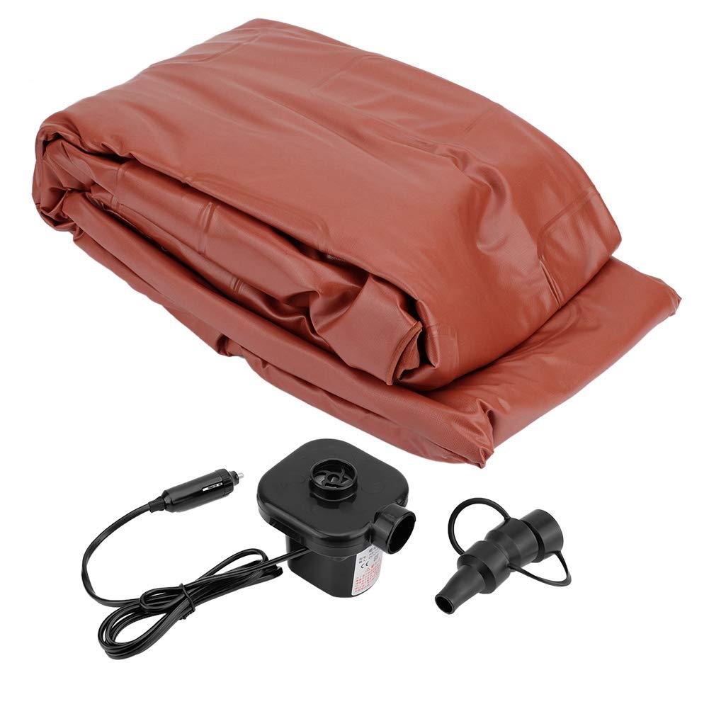Cocoarm SUV Luftmatratze Auto Luftmatratze mit Pumpe 2 aufblasbaren Kissen Tragetasche Aufblasbare Matratze Luftbett f/ür Auto Matratze Aufblasbares Bett Air Bett f/ür Reisen Camping