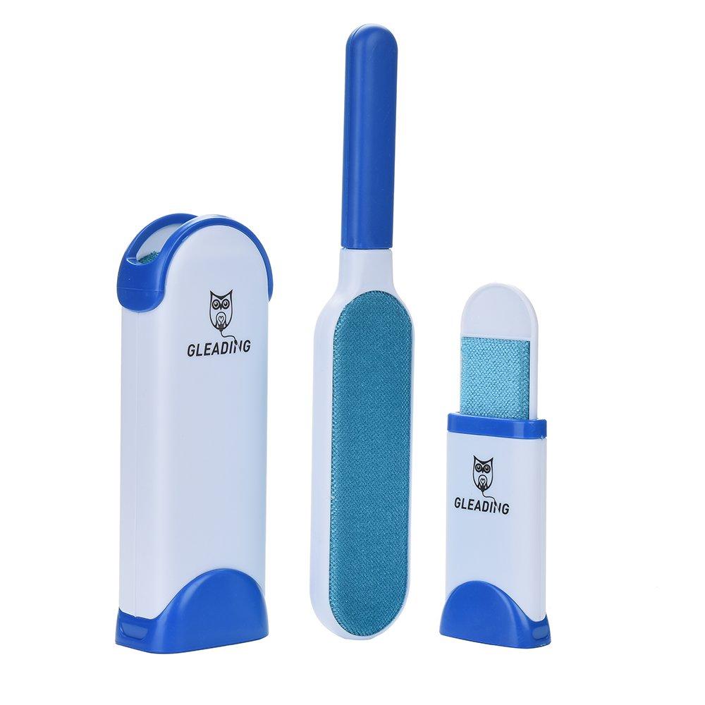 Gleading Spazzola magica elimina Peli animali Capelli Spazzola Magica - riutilizzabile con la spazzola pulizia in formato da viaggio