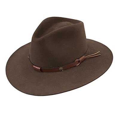 8be896d7 Stetson Catera Gun Club Hat-Mink-7 at Amazon Men's Clothing store: