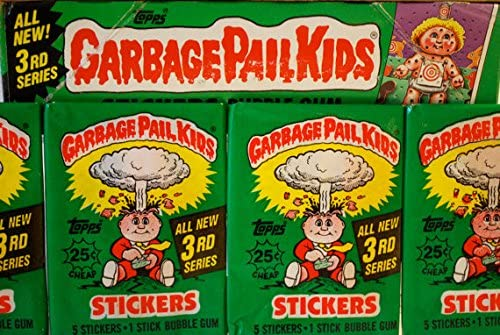 Topps GARBAGE PAIL KIDS Series 3 Sealed//Unopened Wax Pack 1986