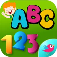 ABC 123 Tracing for Toddlers - Learn Alphabet letters and Numbers writing,tracing,phonetic sound for preschool and kindergarten kids