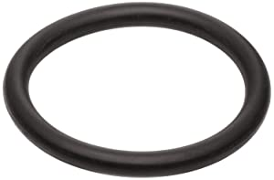 """133 Neoprene O-Ring, 70A Durometer, Round, Black, 1-13/16"""" ID, 2"""" OD, 3/32"""" Width (Pack of 50)"""