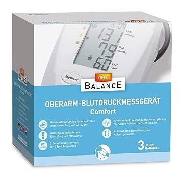 Breve Balance Tensiómetro de brazo Comfort 1 St: Amazon.es: Salud y cuidado personal
