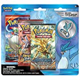 Pokemon TCG Legendary Collector's Pin with 3 Booster Pack, Articuno