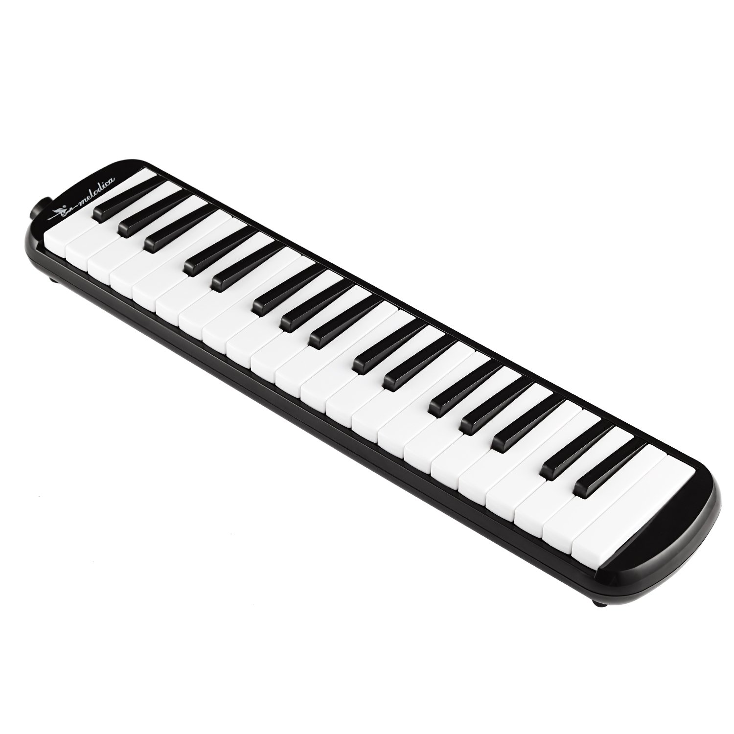 Swan 37 Keys Piano Melodica Musical Instrument with Carrying Case,Black product image