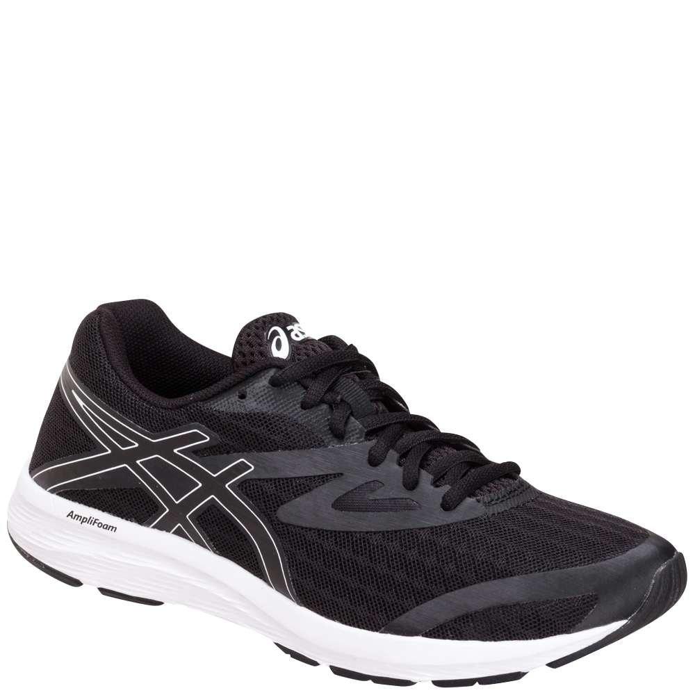 ASICS Women's AMPLICA Running Shoe B071P231JM 6.5 B(M) US|Black/Black/White