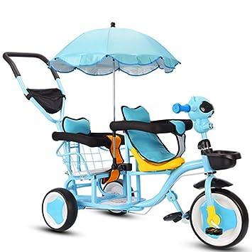 Amazon.com: YUMEIGE niños triciclos niños triciclo 360 ...