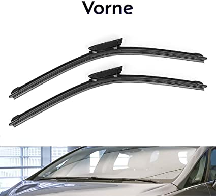 450,450 mm Hybrid Flex Scheibenwischer Wischerblätter Twin AERO Vorne Premium