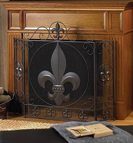VERDUGO GIFT Fleur Fireplace Screen