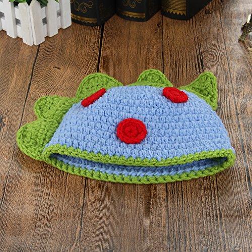 42a030c4545 La Vogue Handmade Baby Boys Girls Dinosaur Crochet Beanie Hat Photograph  Props
