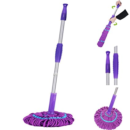 Amazon Tangon Microfiber Twist Mop Professional Hand Free Self