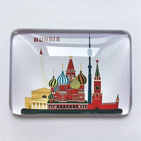Weekinglo Souvenir Rusia Refrigerador Imán de Nevera Ciudad Mundo ...