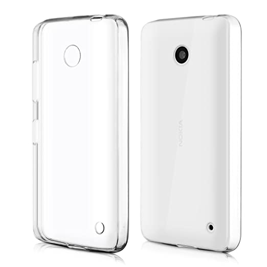 6 opinioni per kwmobile Cover per Nokia Lumia 630- Custodia in silicone TPU- Back case