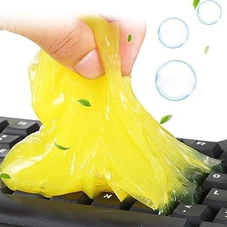 Auto Auto Detaillierung Reinigungsgel Multifunktions-Reinigungsgel Tastatur Computer Reinigungsschlamm Auto Staubkleber Magic Gel Liery Staubreiniger Gel