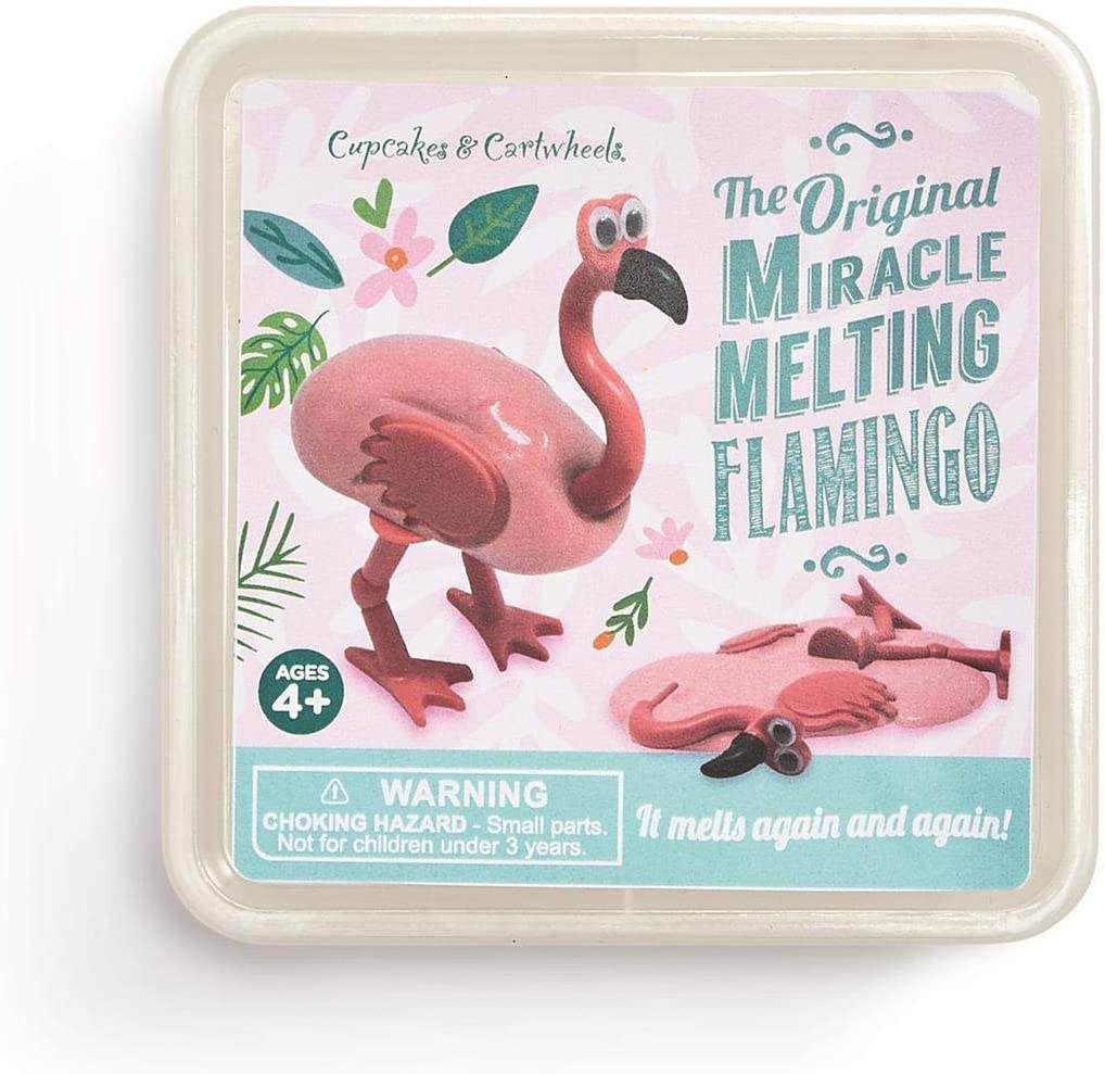 Cupcakes and cartwheels Two's Company The Original Miracle Melting Flamingo Putty