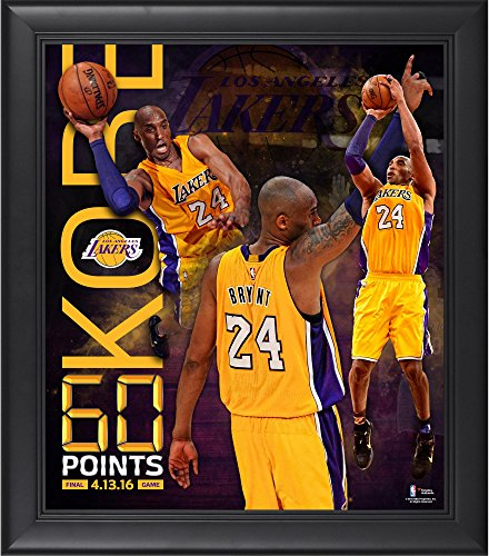 Kobe Bryant Los Angeles Lakers Framed 15