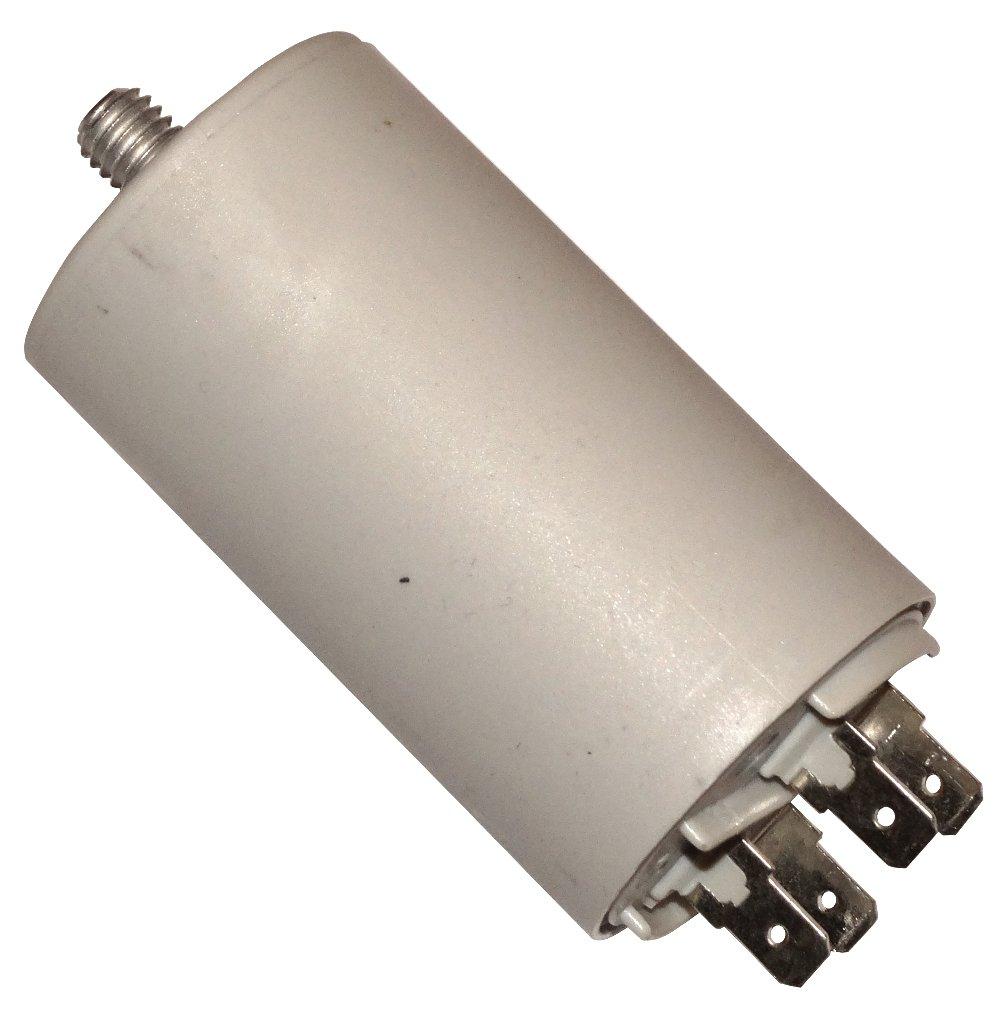 Aerzetix: Condensateur permanent de travail pour moteur 40µ F 425V avec cosses 6, 3mm SK2-C10529-Q5