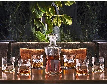 Tcbz Juego de decantador de Whisky Art Deco de Primera ...