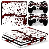 Cheap GoldenDeal PS4 Pro Console and DualShock 4 Controller Skin Set – Blood – PlayStation 4 Pro Vinyl