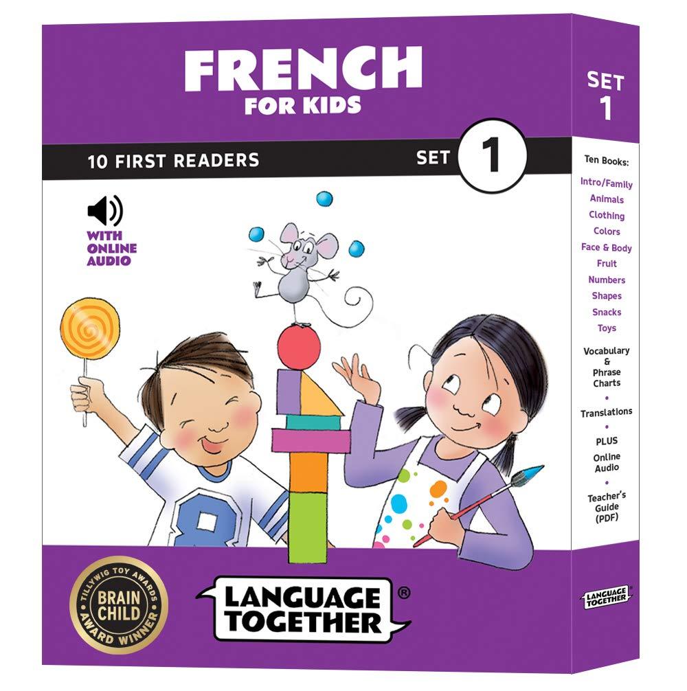 French Kids Vocabulary Beginning Language product image