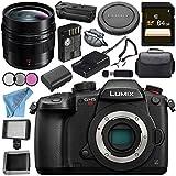 Panasonic Lumix DC-GH5S Mirrorless Micro Four Thirds Digital Camera Leica DG Summilux 12mm f/1.4 ASPH. Lens DMW-BGGH5 Battery Grip Bundle