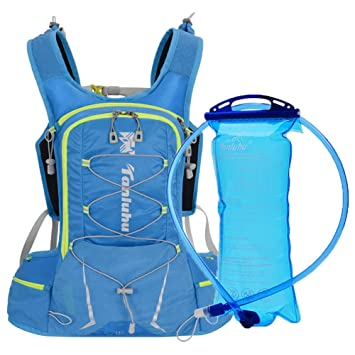 YZCX Mochila de Hidratación con 2 litros Bolsa de Agua ...