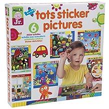 ALEX Toys - ALEX Jr. Tots Sticker Pictures  -  Art Supplies 1858