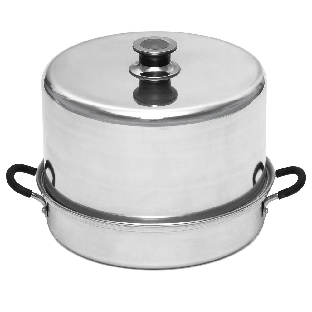 Aluminum Steam Canner with Temperature Indicator by VICTORIO VKP1054 by Victorio