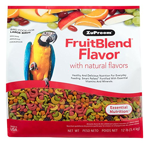 ZuPreem FruitBlend Large Birds Size product image