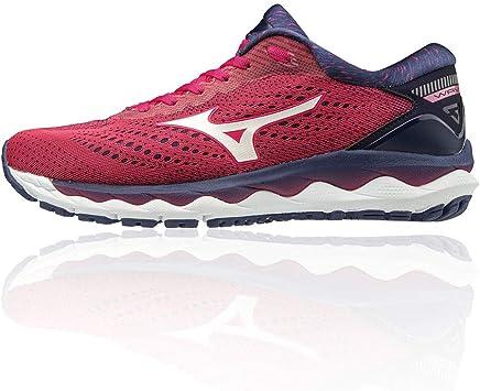 Mizuno Wave Sky 3, Zapatillas de Running por Mujer: Amazon.es: Zapatos y complementos
