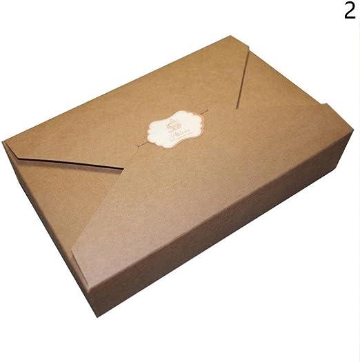 10 sobres de estilo sencillo con caja de regalo para galletas ...