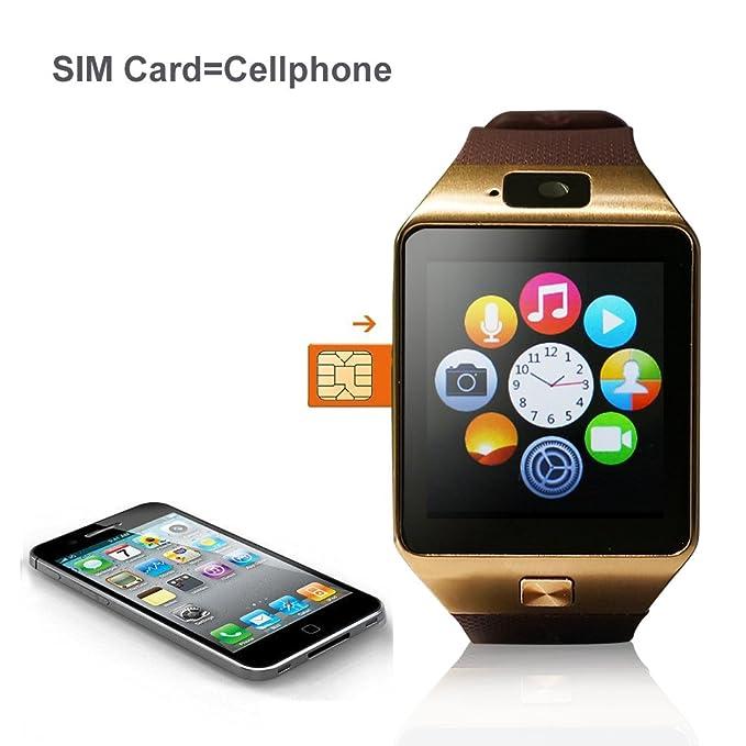 YUNTAB S Bluetooth Smart Watch pantalla LCD 1.56