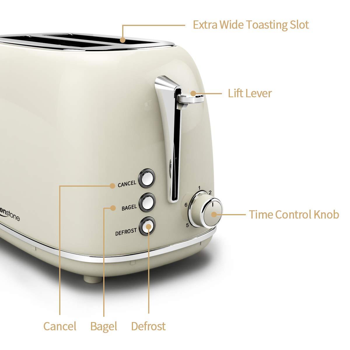 Amazon.com: Keenstone - Tostadora de 2 rebanadas: Kitchen ...