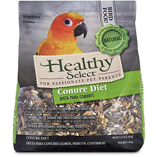 Select Diet - Healthy Select Conure Diet Bird Food, 3.25 lbs.