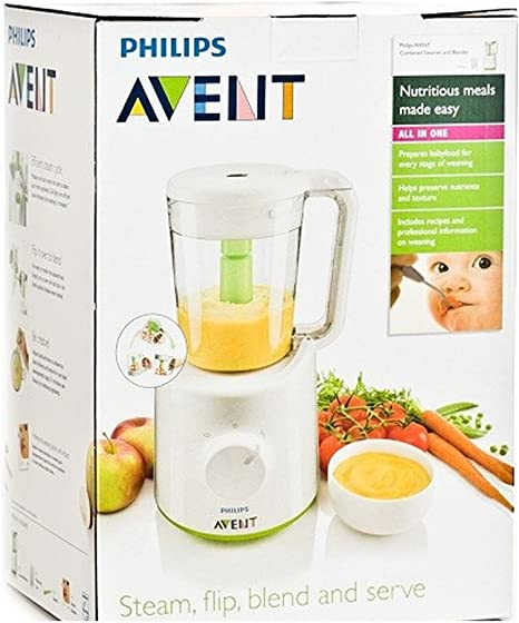 Philips Avent Scf870 Combined Baby Food Master Steamer And