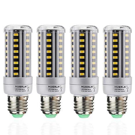 Bombilla LED E27 12W Lámpara Led equivalente a 100W 1205 Lumen 3000K Luz Blanco Cálido E27