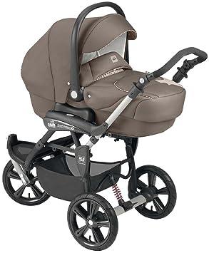 Cam Il Mondo Del Bambino - ART891 - Cortina X3 Tris Evolution - Cochecito con sistema de tres módulos, color fango: Amazon.es: Bebé