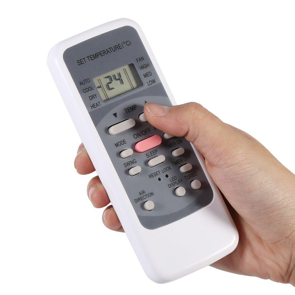 Eboxer Nueva Faschion Aire Acondicionado Mando a Distancia Mando a Impuestos Repuestos para MIDEA r51/m//S R51//CE r51/m//CE r51d//S r51/m//BGE r51/m//BGE