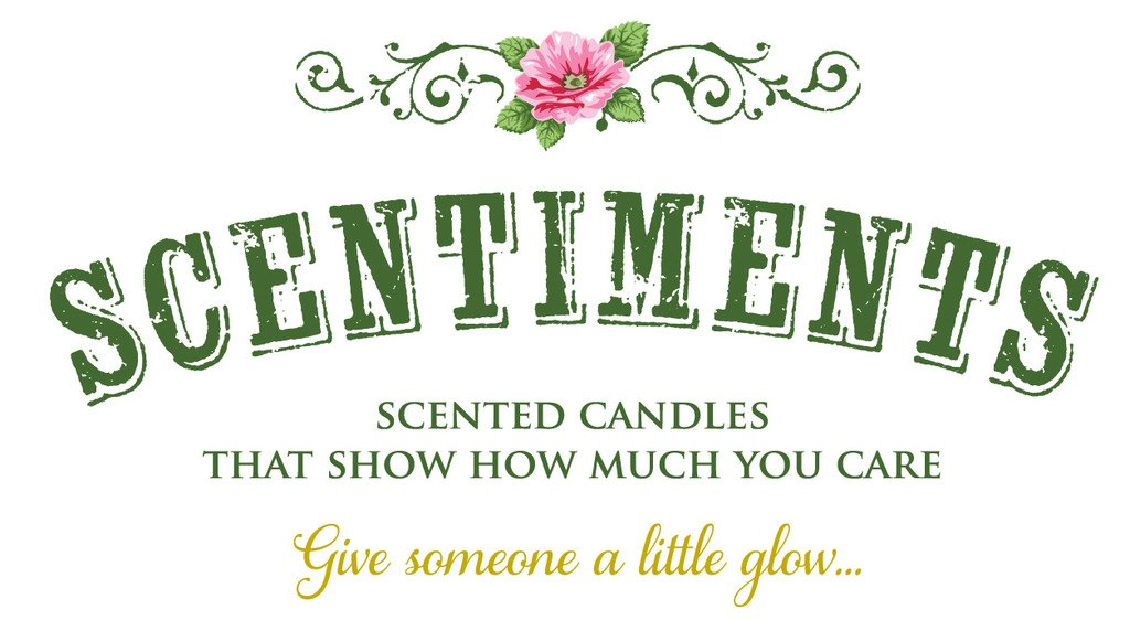 Scentiments GRANDMA Gift Candle Linen Scented Fragrance 16oz
