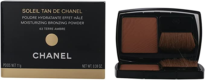 Chanel Soleil Tan de Chanel Hidratante Bronzing powder – 11 G, 63 Terre Ambre: Amazon.es: Belleza