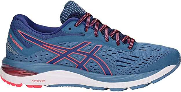 ASICS Women's Gel-Cumulus 20 Running Shoes, 5M, Azure/Blue Print