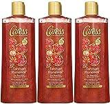 Caress Tahitian Renewal Exfoliating Body Wash, 18 Ounce (Pack of 3)