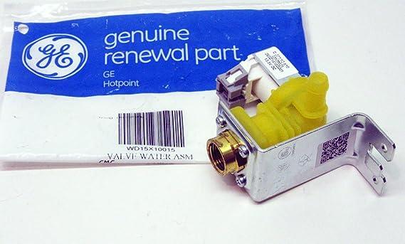 WD15X10015 GE Valve Water Asm Genuine OEM WD15X10015