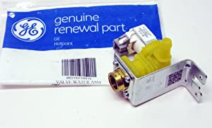 PART # WD15X10015 GENUINE FACTORY OEM ORIGINAL DISHWASHER WATER SOLENOID INLET VALVE FOR GE AND HOTPOINT : REPLACES PS6011659 AP5669207