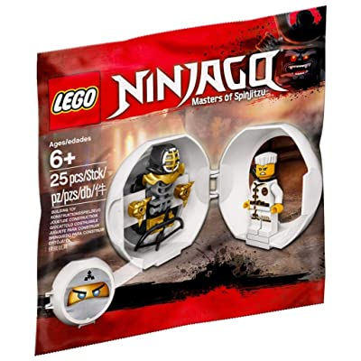 LEGO Zane's Kendo Training Pod 5005230: Toys & Games
