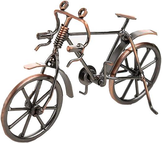 CHENG Hierro Forjado Bicicleta Modelo Hecho a Mano artesanías ...
