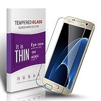 Galaxy S7 Panzerglas Schutzfolie, Vegkey Samsung Galaxy S7 Panzerglas Glasfolie Schutzfolie, Gehärtetem Glas Panzerglas Displayschutzfolie Folie für Samsung Galaxy S7