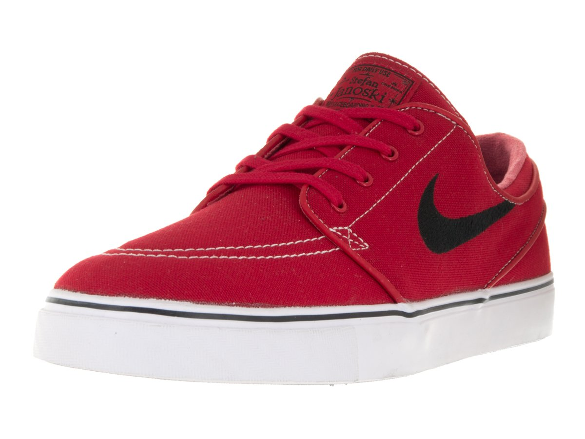 NIKE Men's Zoom Stefan Janoski Skate Shoe 8 D(M) US|University Red/Gum Light Brown/White/Black